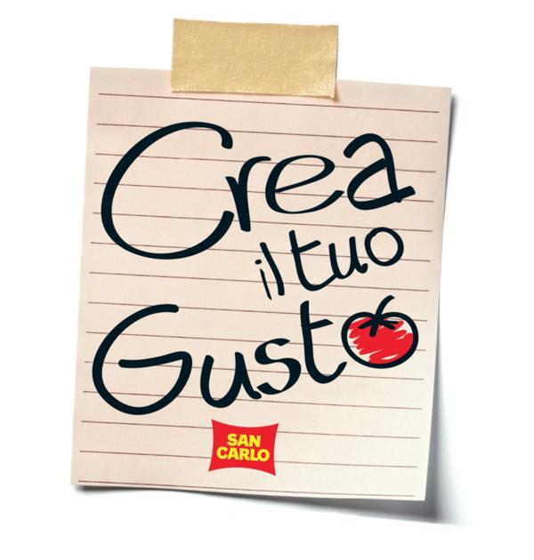 San carlo lancia la seconda edizione del concorso crea il for San carlo crea il tuo gusto