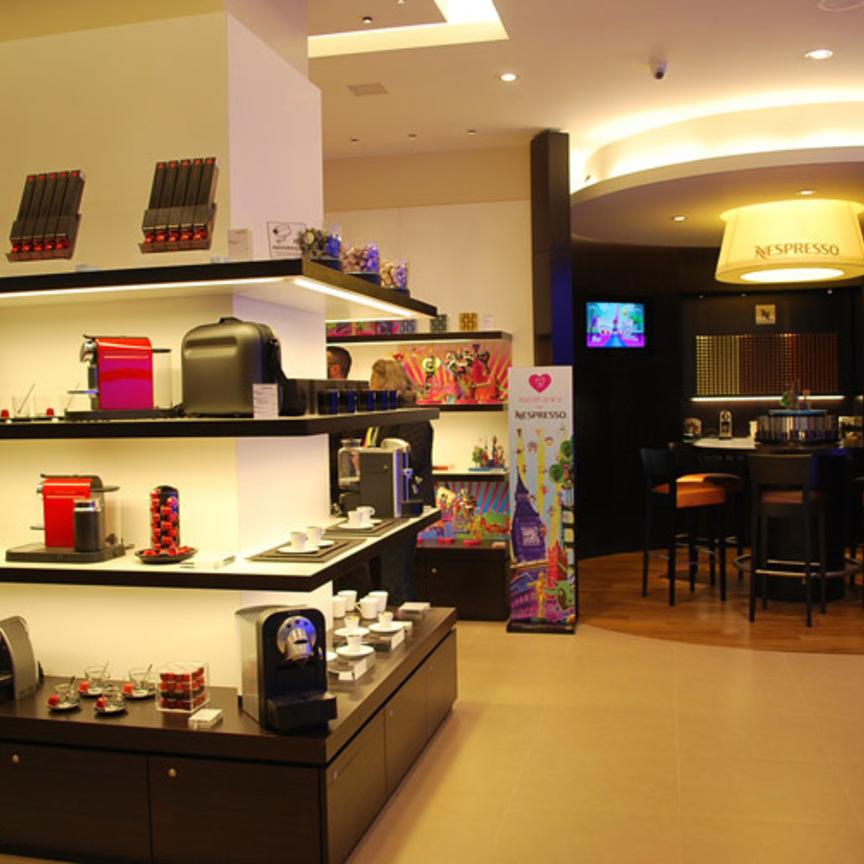 Nespresso approda al centro commerciale carosello - Piastrelle prima scelta commerciale ...